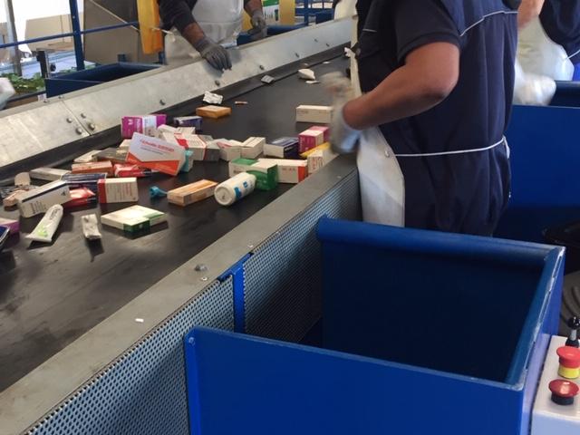 Centro Clasificación Residuos