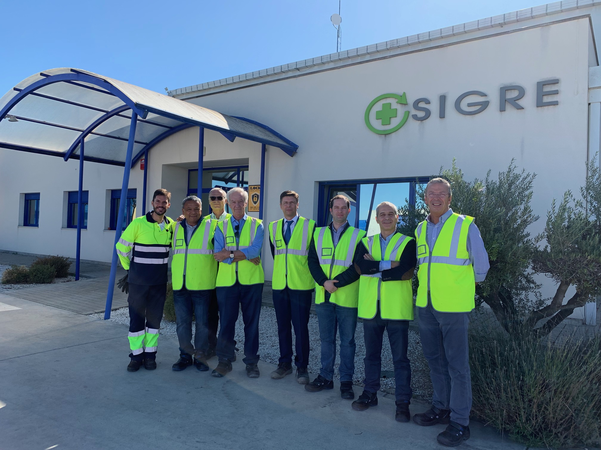 Foto nº1-Visita Planta Biotran-RIPPM (10.10.2019)